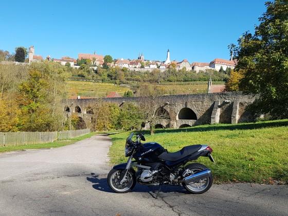 Toller Herbsttag in Rothenburg ob der Tauber