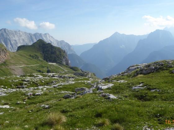 Slowenien-  Mangart-Pass 2017