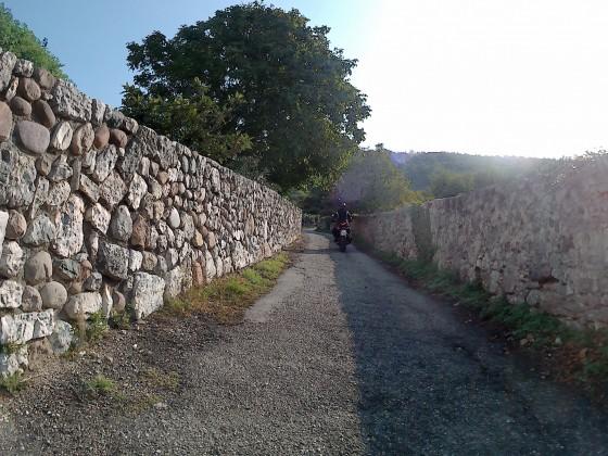 Alternative Auffahrt zum Monte Baldo